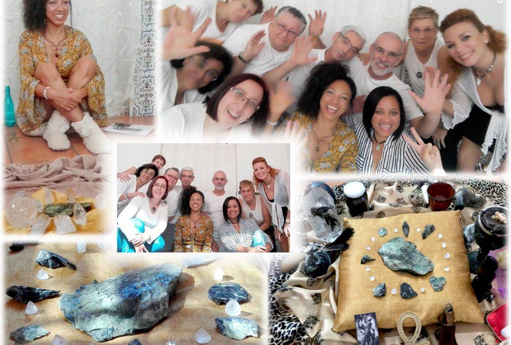 Crystal Healer in Spain!