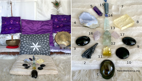 CRYSTAL QUIZ and Self Healing with Crystals!