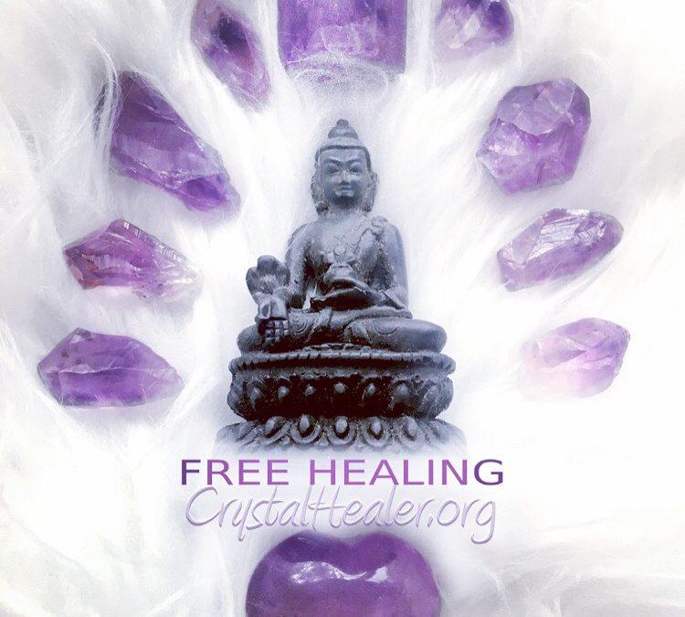 Free Worldwide Reiki Crystal Healing!