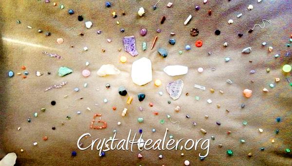 The Artistry of Crystal Gridding