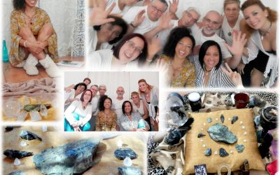 Our Crystal Healing Community in Spain!