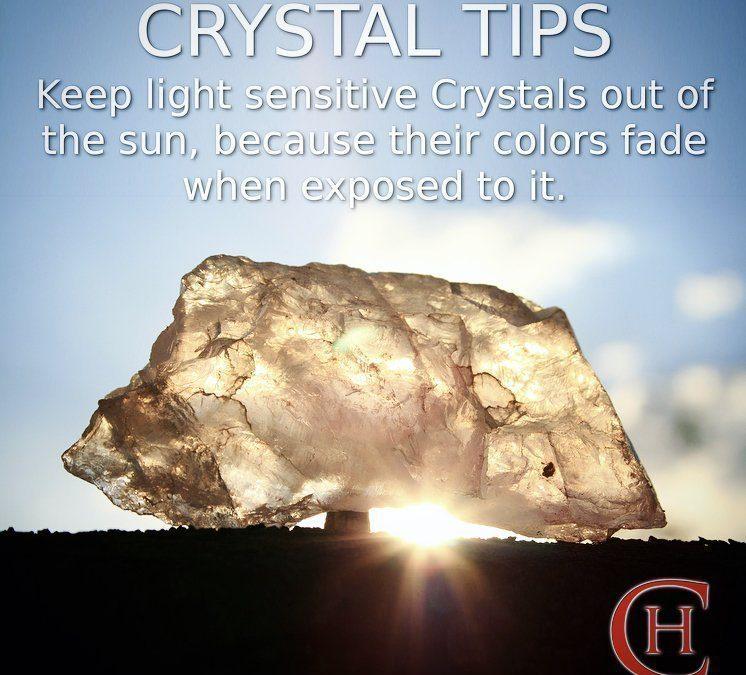 Light Sensitive Crystals