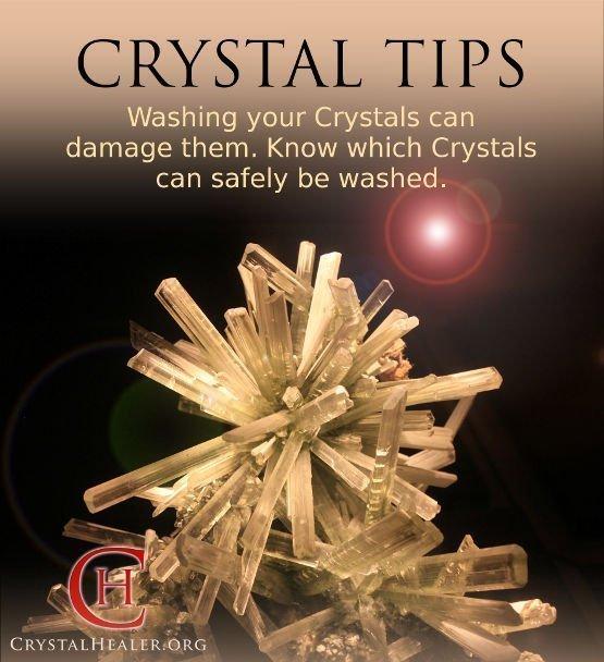 Water Sensitive Crystals