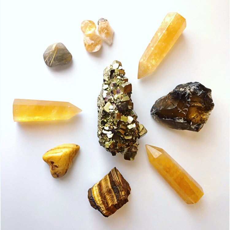 Solar Plexus Crystals
