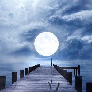 Full Sturgeon Moon in Aquarius