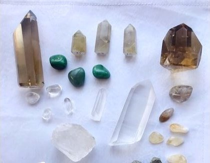 Crystals for Wealth!