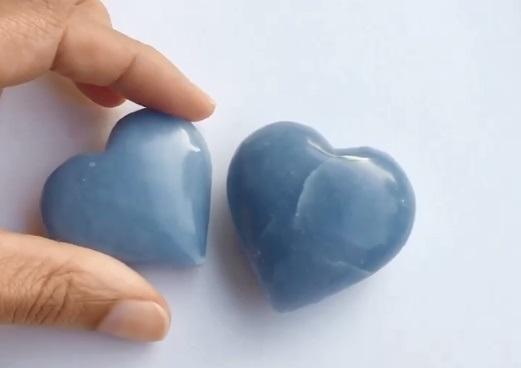 Angelite Hearts