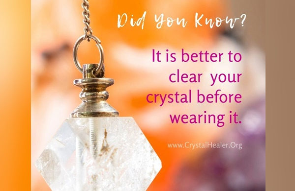 How do You Cleanse your Crystals?
