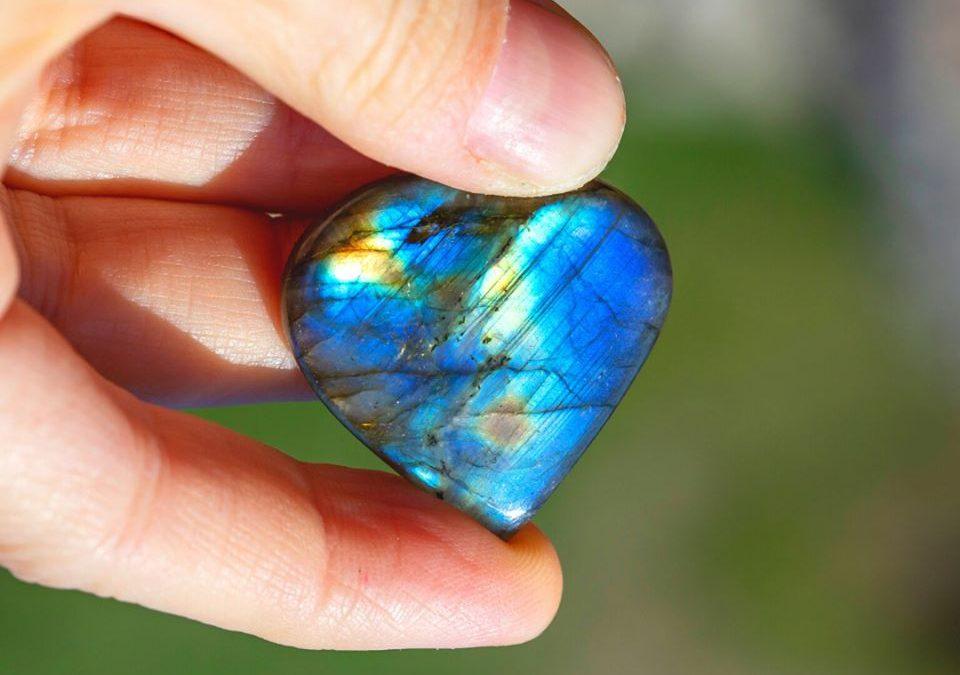 Crystal Labradorite