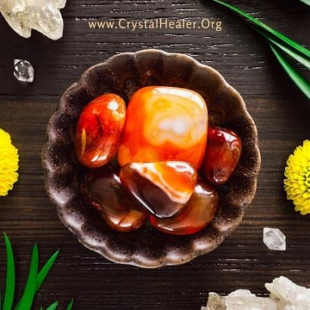 Crystal of the Week: Carnelian