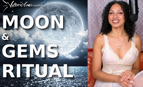 Crystals and Gems Moon Ritual